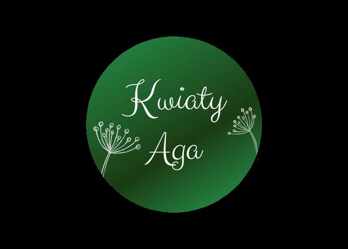 Kwiaty Aga Logo