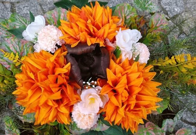 Stroik Pomarańczowy - Kwiaty Aga